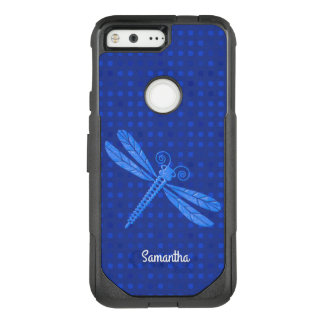 Blue Dragonfly OtterBox Google Pixel Case