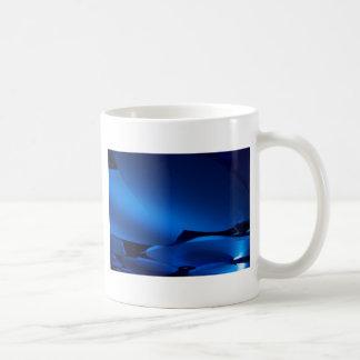 Blue Ellipses Coffee Mug