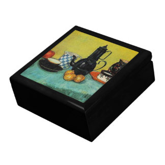 Blue Enamel Coffee Pot by Vincent van Gogh Gift Box