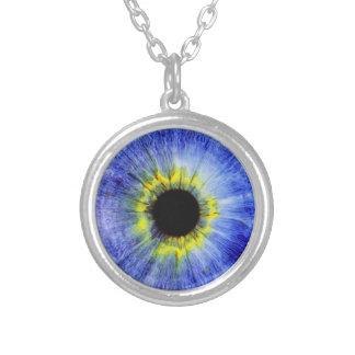 Blue Eye Pendant Necklace Third Eye Jewelry
