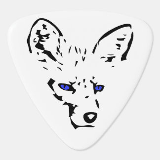 Blue-eyed Fox Guitar Pick