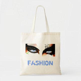 Blue Eyes Fashion Make Up Tote Bag