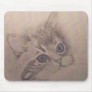 Blue Eyes Mouse Pad