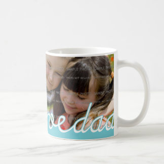 Blue Father s Day Personalized Mugs with Photo