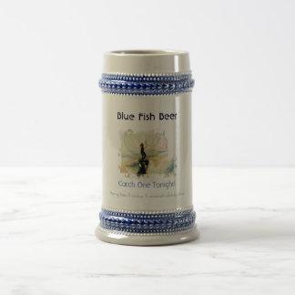 Blue Fish Beer Stein Beer Steins