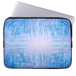 Blue Flames Laptop Sleeve