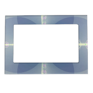 Blue Flower Magnetic Picture Frame