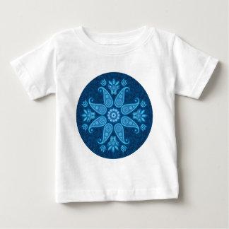 Blue flower tees