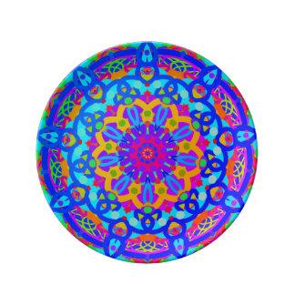 Blue Fountain Plate