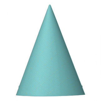 Blue Geometric Minimalist Party Supply Party Hat