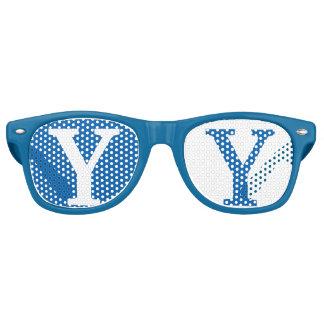 Blue Goggles Retro Sunglasses