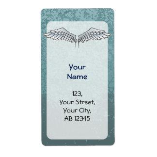 Blue-gray wings
