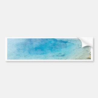 Blue Green Hot Spring Bumper Sticker