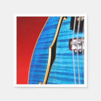Blue Guitar Disposable Serviette