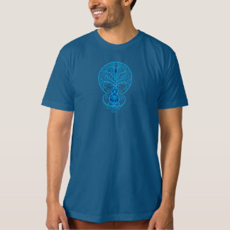 Blue Guitar Tree of Life T-Shirt