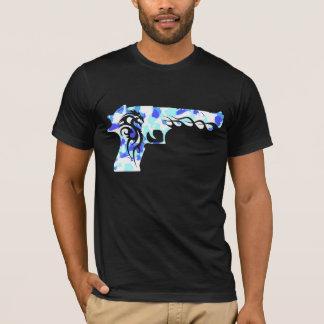 blue guns 1 T-Shirt