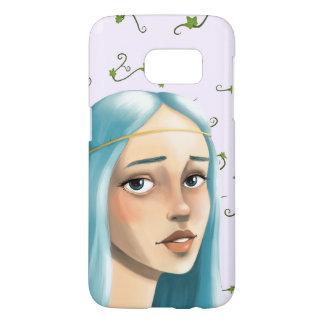 Blue Hair Maiden on Ivy