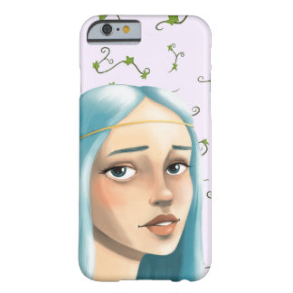 Blue Hair Maiden on Ivy Barely There iPhone 6 Case