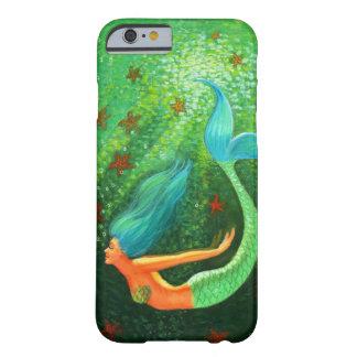 Blue Hair Mermaid fantasy art iPhone 6 case
