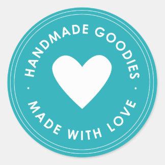 Blue Handmade Goodies Sticker