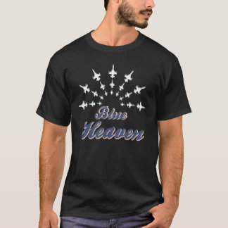 Blue Heaven F16 Fighting Falcon T-Shirt
