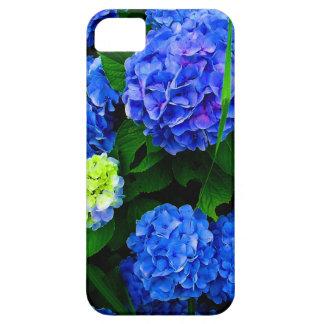 Blue Hydrangea Flowers Case (Customisable) iPhone 5 Cases