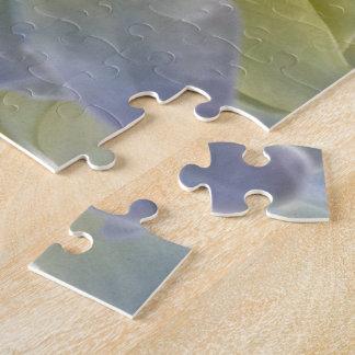 Blue hydrangea puzzle
