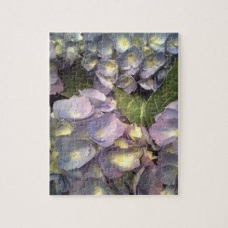 Blue Hydrangeas Jigsaw Puzzle