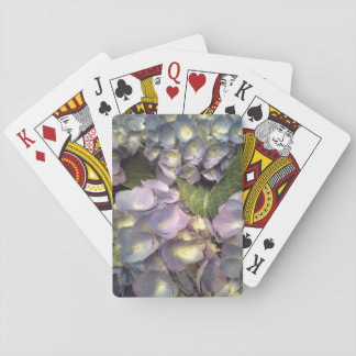 Blue Hydrangeas Playing Cards