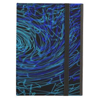 blue iCase iPad Folio Cases