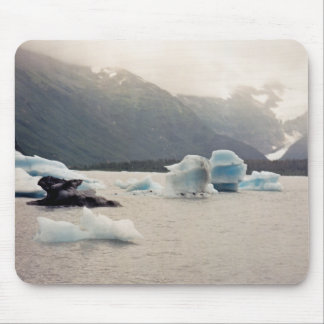Blue Ice Mouse Pad