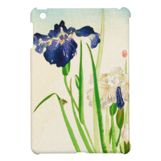 Blue Iris - Japanese watercolor print iPad Mini Covers