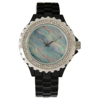 Blue Iris Wavy Texture Watch
