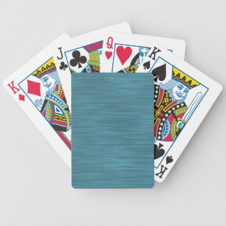 Blue Jeans Cloth Fabric. Vintage Retro Fashion Bicycle Playing Cards