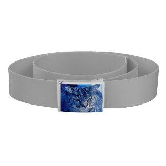 Blue Kitty Custom Belt All-Gray