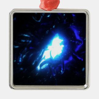 Blue Lady Christmas Ornament