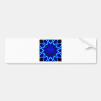 Blue laser #2 bumper sticker