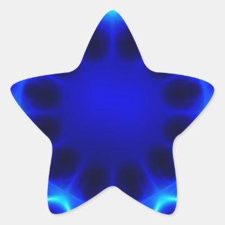 Blue laser #2 star sticker