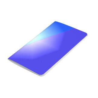 Blue Lavender Starburst Journal