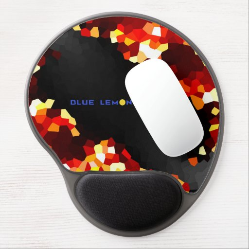 Blue Lemon Games Mouse-Pad (Red) Gel Mousepads
