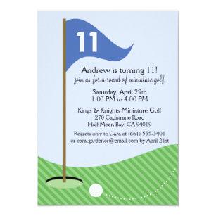 golf invitations announcements zazzle nz. Black Bedroom Furniture Sets. Home Design Ideas