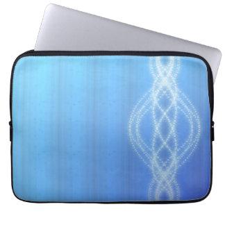 Blue Lights Laptop Sleeve