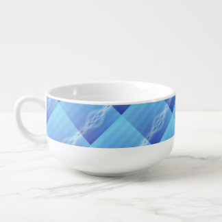 Blue Lights Soup Mug