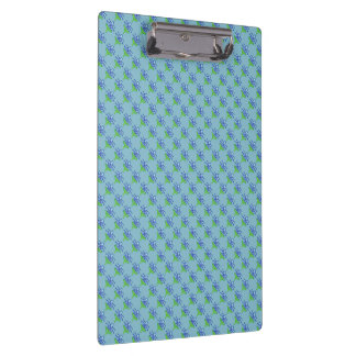 Blue Lily Clipboard