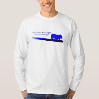 Blue Line Bulldogs LS T-Shirt