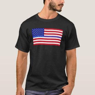 BLUE LIVES MATTER FLAG T-Shirt