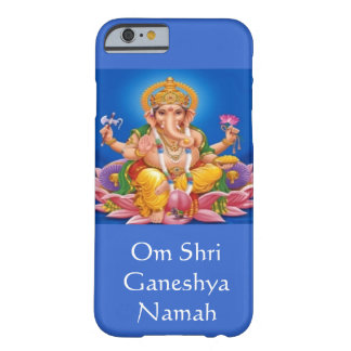Blue Lord Ganesh iPhone 6 case