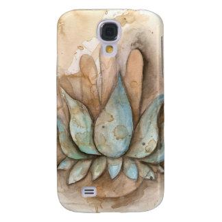 Blue Lotus Healing Hand Galaxy S4 Case