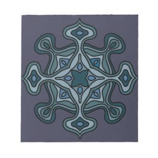 Blue Mandala Notepad
