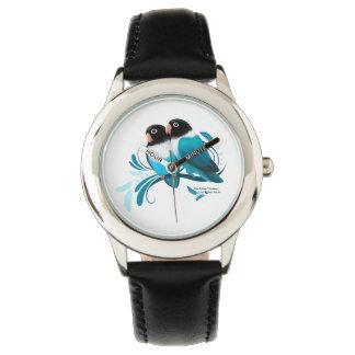 Blue Masked Lovebirds Watch